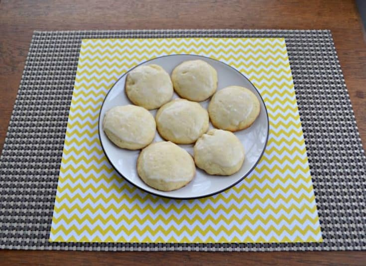 Frosted Lemon Cookies are sweet and simple