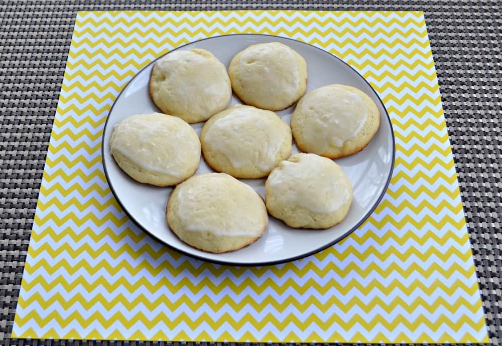 Frosted Lemon Cookies are sweet and just a little tart