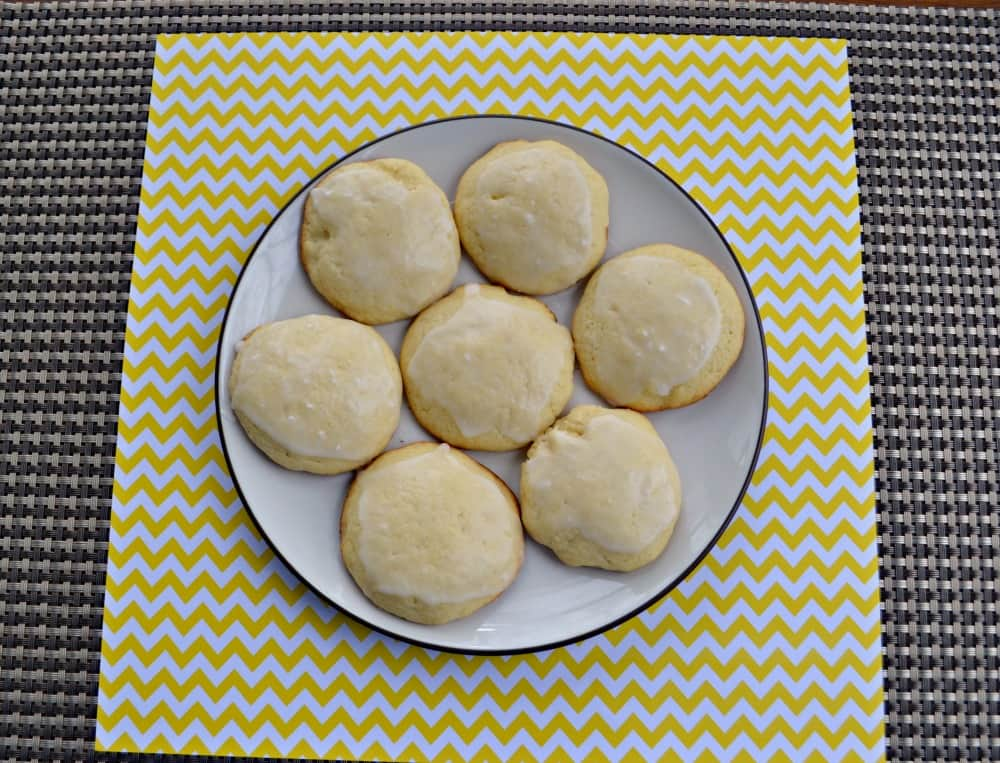 Frosted Lemon Cookies | Hezzi-D's Books and Cooks