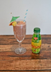 Tropical Pineapple Smoothie with Pure Earth Juice:  A Pure Escape