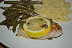 Pork Piccata #WeekdaySupper