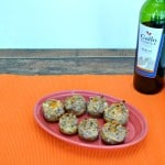 Spicy Stuffed Mushrooms #SundaySupper