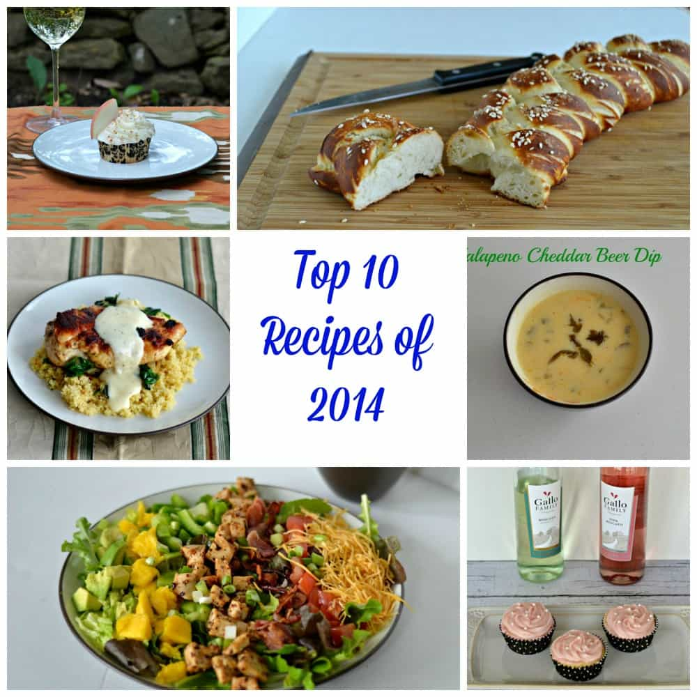 Top 10 Recipes of 2014 | Hezzi-D's Books and Cooks