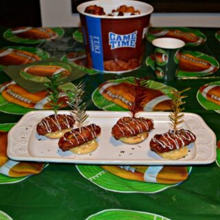 Hot Wing Chicken and Waffles Appetizers make game time snacks a snap!
