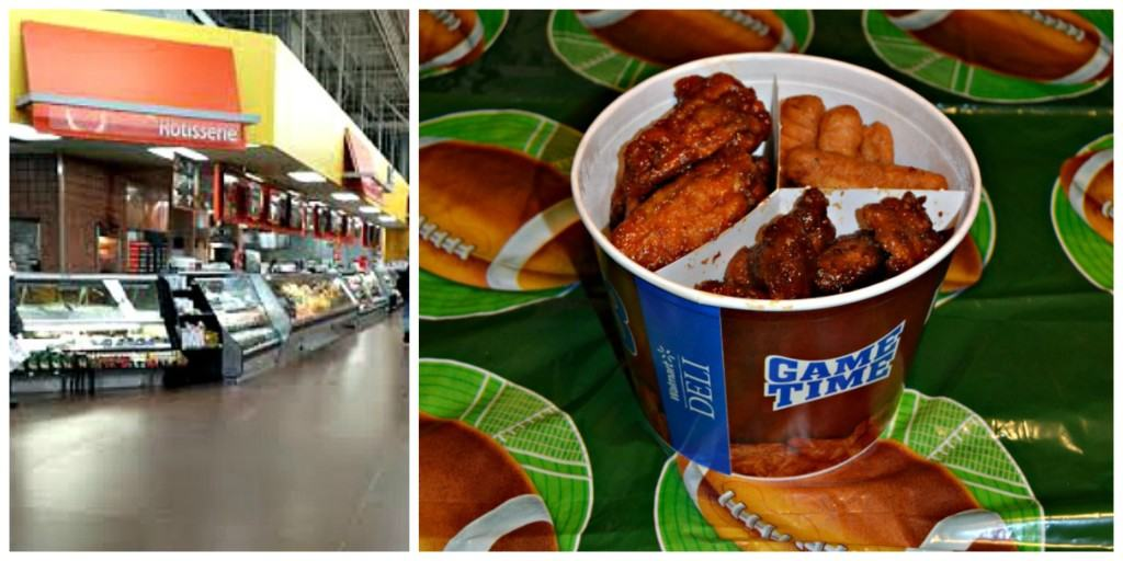 Tyson Deli wings are available at Walmart