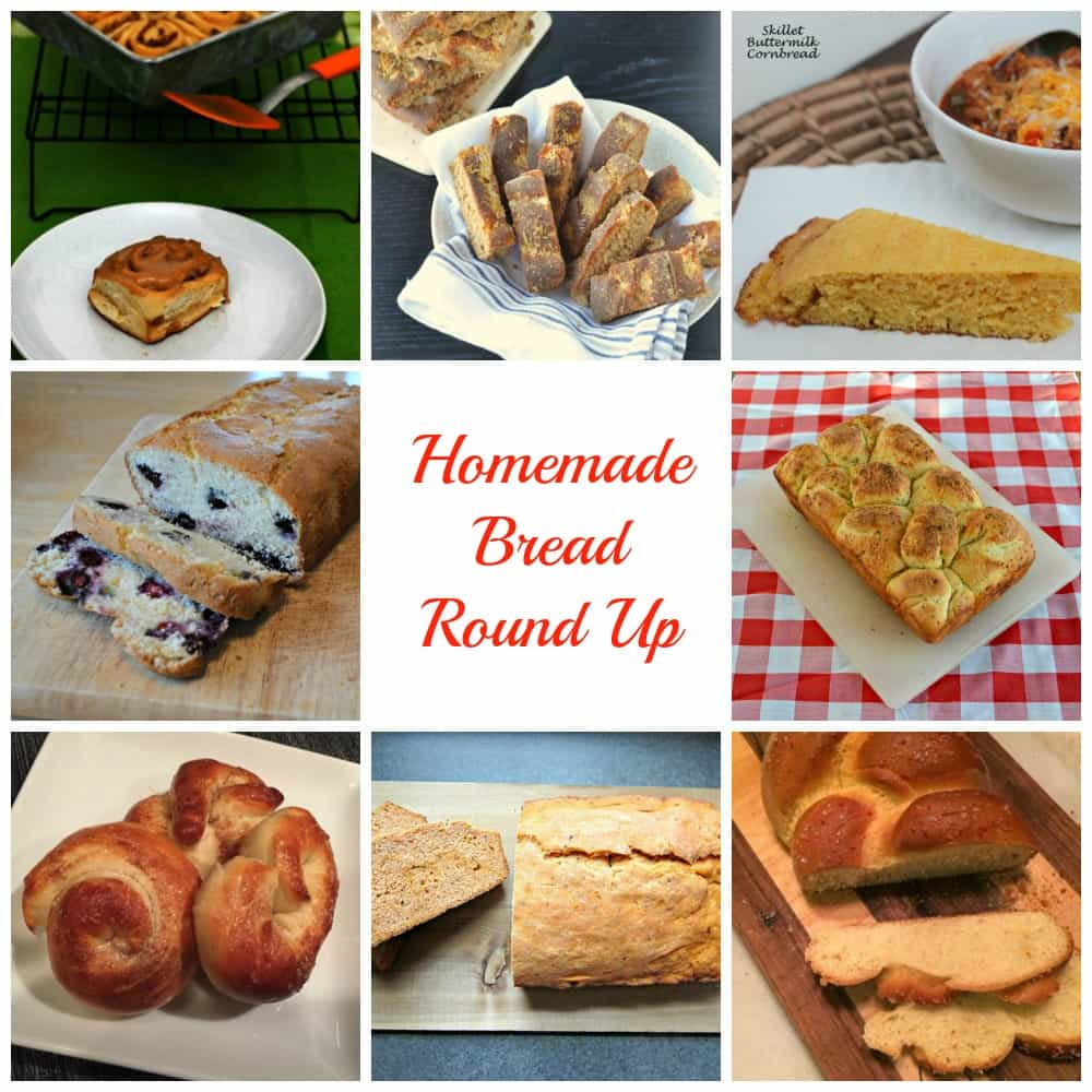 15 + Homemade Bread Recipes!