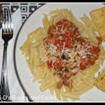 Penne Pasta with Caponata Sauce