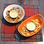 Game Time Grub:  Alexia Fries & Onion Rings with Dips