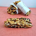 Fruit and Nut Granola Bars (Gluten Free)