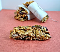 Gluten Free Fruit and Nut Bars