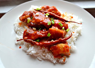 Spicy and delicious General Tso's Chicken