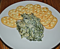 Hot Spinach Parmesan Dip is an awesome appetizer.