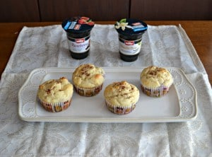 "Delicious ""Double Scoop"" Ice Cream Inspired Yogurt Muffins"