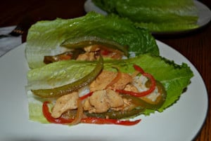 Chicken Stir-Fry Lettuce Wraps (Secret Recipe Club)