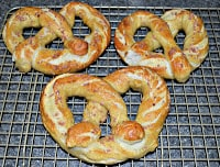 Alton Brown's Soft Pretzels: These are the best soft pretzels ever!