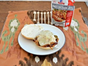 Spicy BBQ Chicken Sandwiches #WeekdaySupper #McSkilletSauce