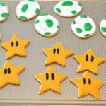 Mario Cookies (Stars and Dino Eggs)