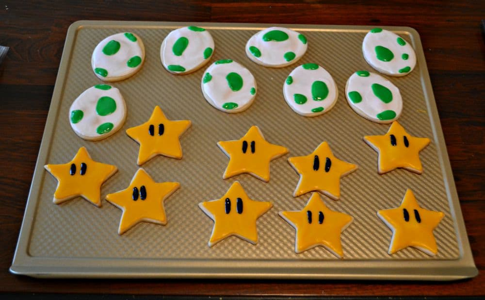 Mario Cookies are perfect for a party!