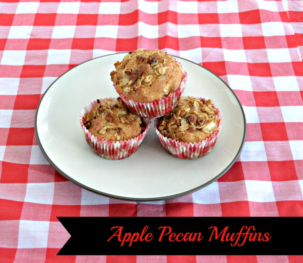 Apple Pecan Muffins made with Finlandia Imported Butter