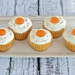 """Bacon and """"Eggs"""" Cupcakes #SundaySupper"""