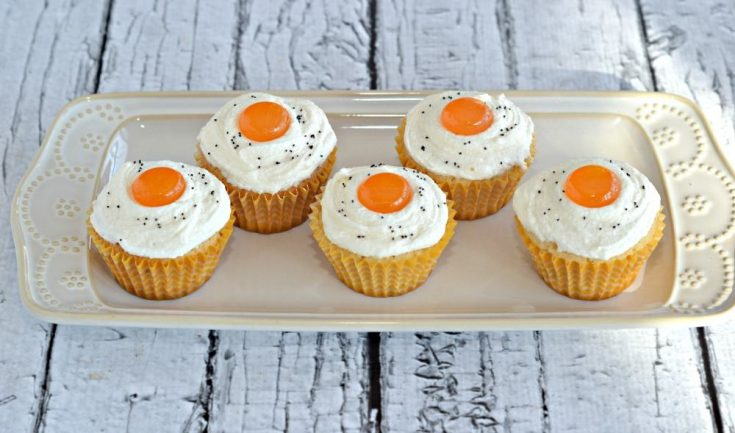 Bacon and Eggs Cupcakes is a fun and delicious cupcake