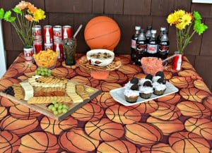 How to Host a Basketball Party with REESE'S Dip & OREO Cupcakes