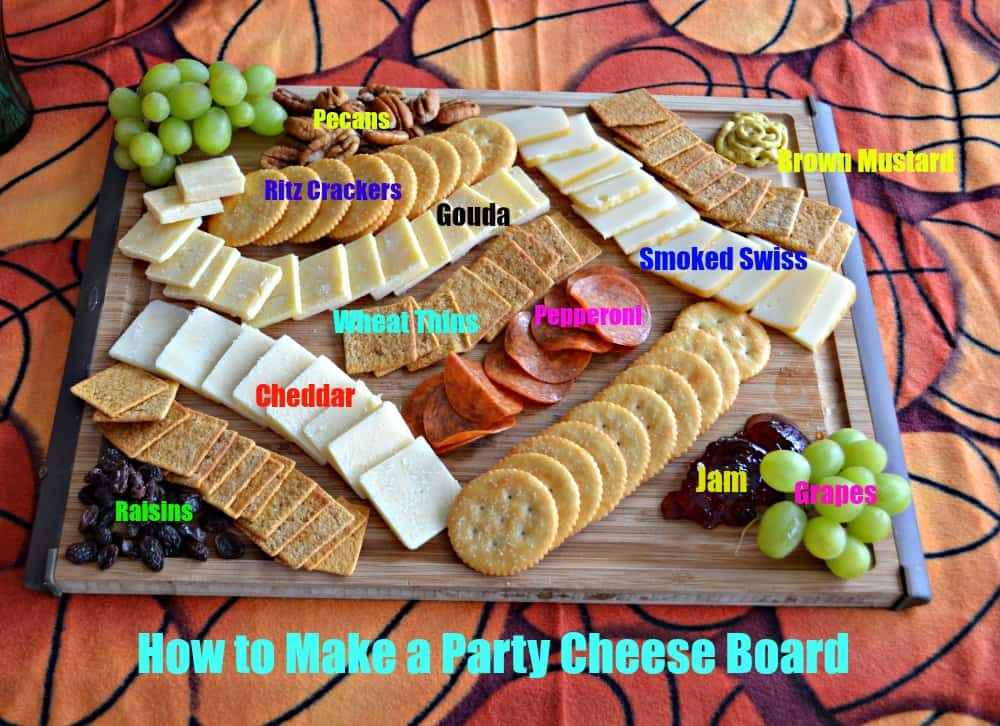 How to Make a Party Cheese Board is the easy way to make a cheese platter your guests will love