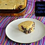 Blueberry Hazelnut Gluten Free Coffee Cake + a review of Bob's Red Mill Everyday Gluten-Free Cookbook