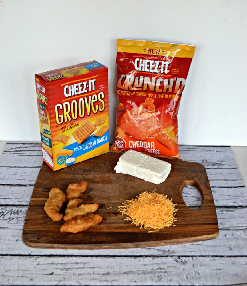 Cheez-It Crunch'd and Cheez-It Grooves are a delicious snack perfect for watching basketball
