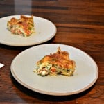 Chorizo, Dubliner, and Vegetable Quiche #SundaySupper