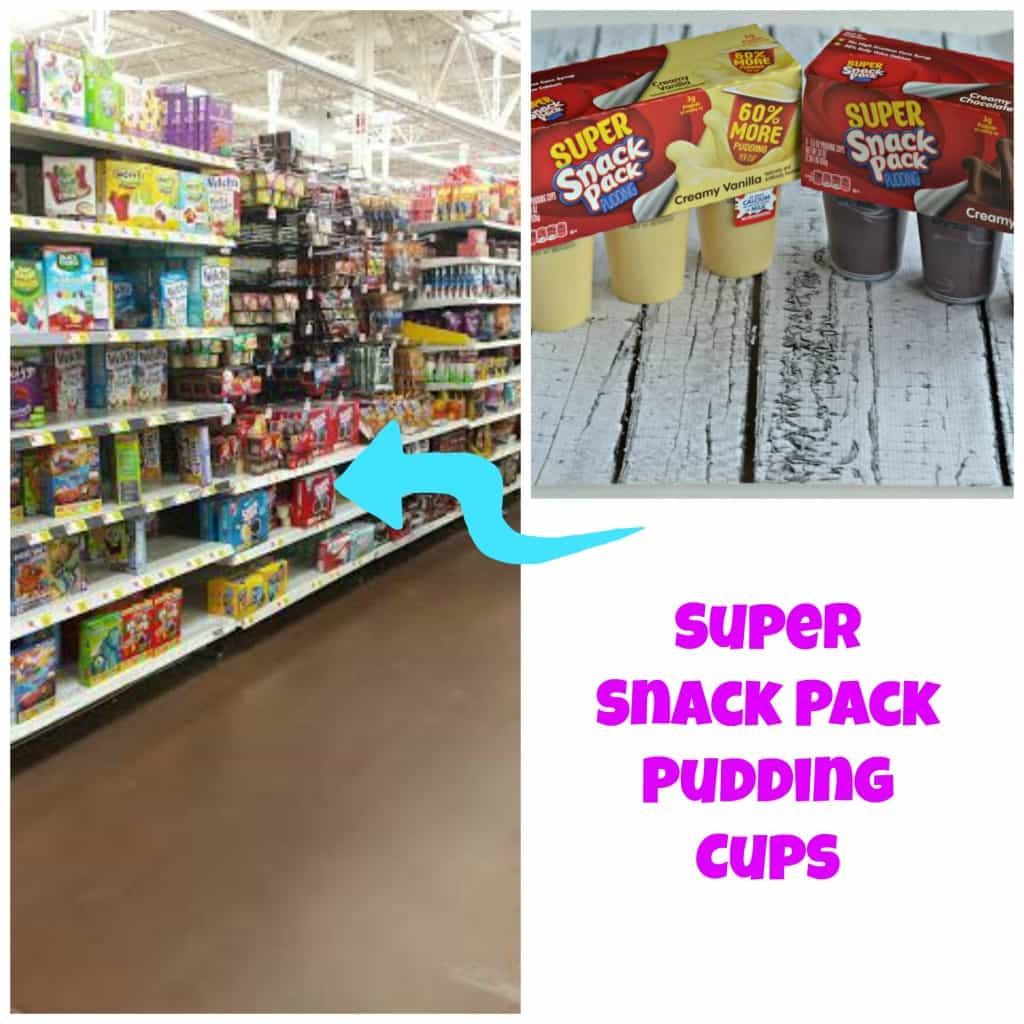 Super Snack Pack Pudding Cups