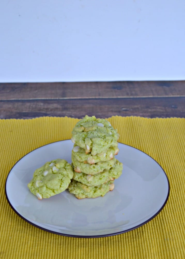 Delicious Key Lime Cookies with White Chocoalte Chips