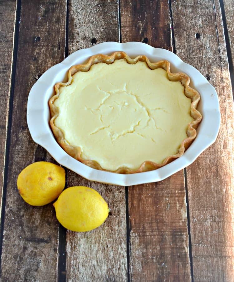 Amazing Lemon Cheesecake Pie