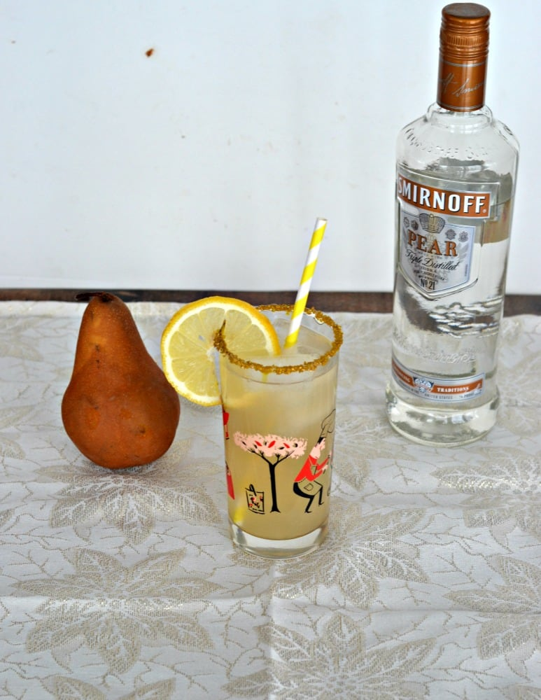 Pear Ginger Lemonade is a refreshing and tasty cocktail that's easy to make