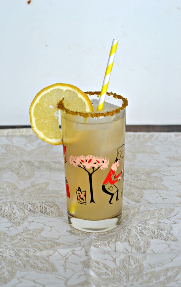 Sweet and tart you'll love this Pear Ginger Lemonade