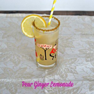Pear Ginger Lemonade