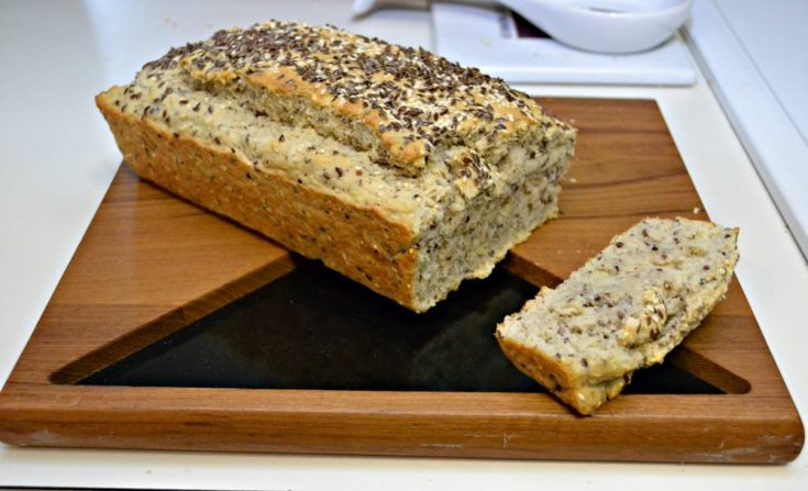 This Seeded Club Soda Bread requires no rising time and the texture is amazing!