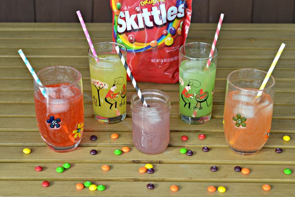 Tasty and delicious Flavored Skittles Lemonade