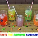 Skittles Basketball Cookies and Taste the Rainbow Lemonade
