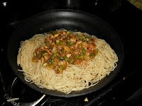 Soba Noodles with a Sweet and Spicy Ginger Scallion Sauce