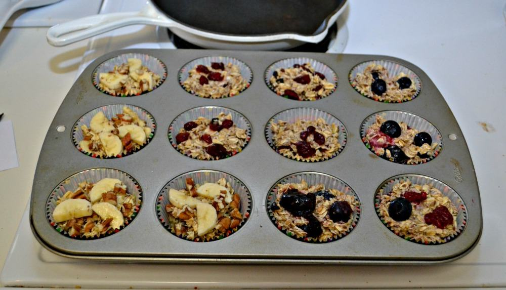 Individual Baked Oatmeal Bites