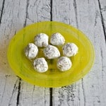 Delicious no bake Pina Colada Bites are ready in minutes. Just add rum then roll in sugar.
