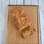 Butterscotch Brown Butter Banana Bread with Oats