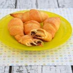 Cadbury Egg Stuffed Croissants #SundaySupper