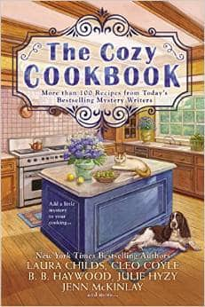 The Cozy Cookbook is the best cookbook for mystery lovers.