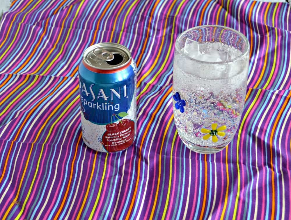 DASANI Sparkling Black Cherry Water