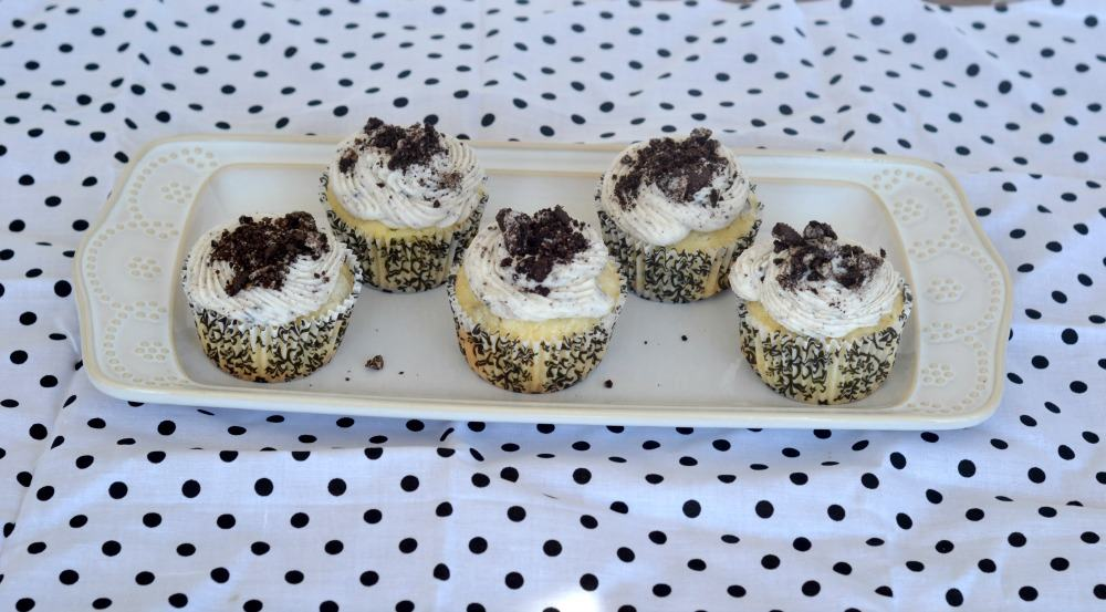 OREO cupcakes are a fabulous treat.