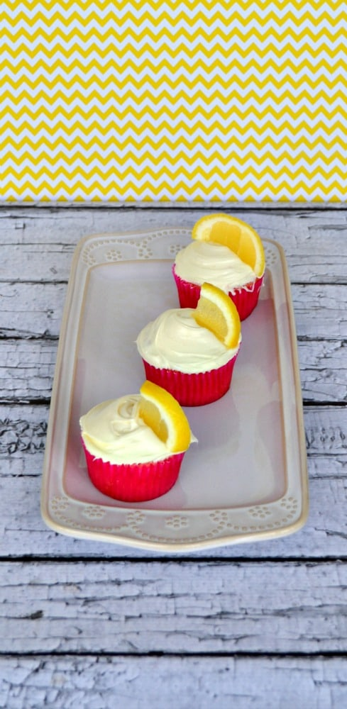 Bright and flavorful Strawberry Lemonade Cupcakes