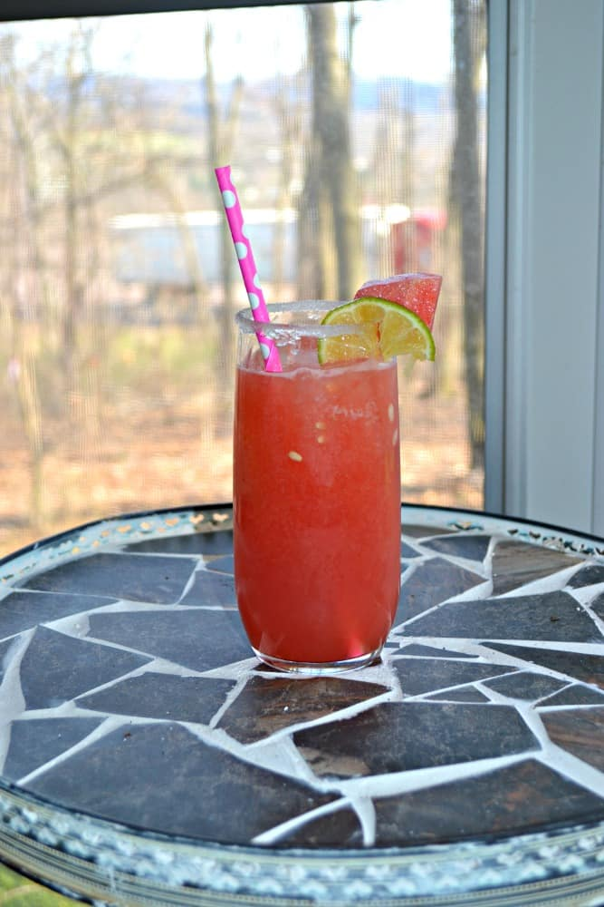 Watermelon Margaritas are delicious and refreshing.