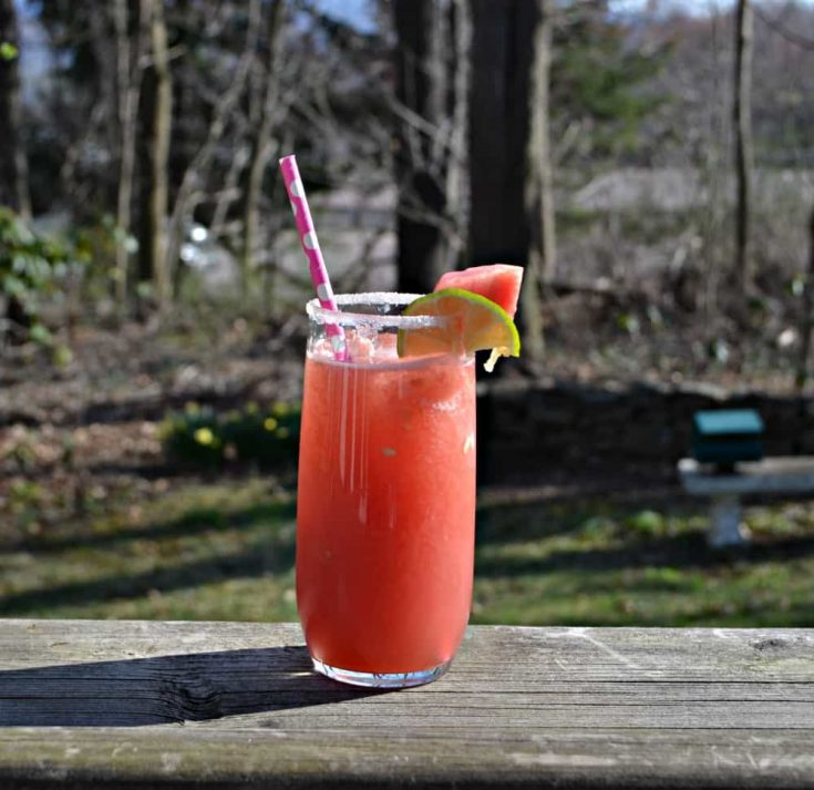 Cool off with a refreshing Watermelon Margarita.